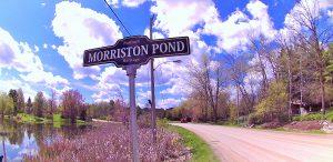 Morriston pond