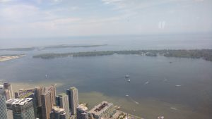 View from the CN Tower