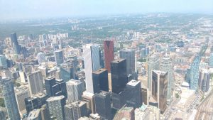 View from the skypod