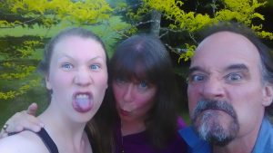 Louise, Irene and Rick