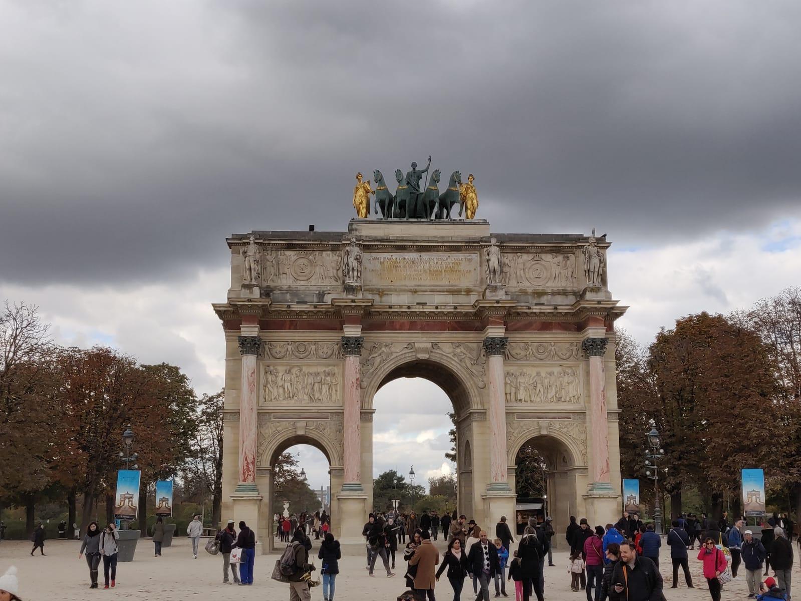 Arc de Triomf, Arc de triomphe