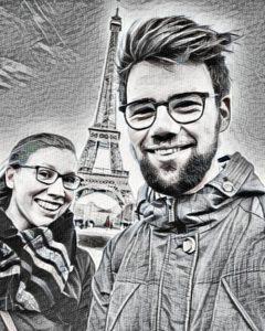 scetch Eifeltoren, Eiffel Tower, Tour eiffel